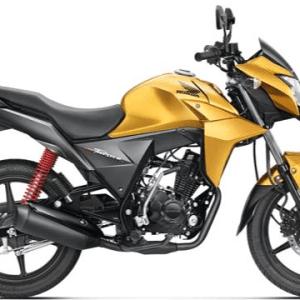 Honda CB Twister Yellow