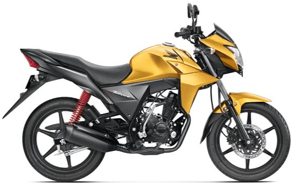 Honda CB Twister Yellow