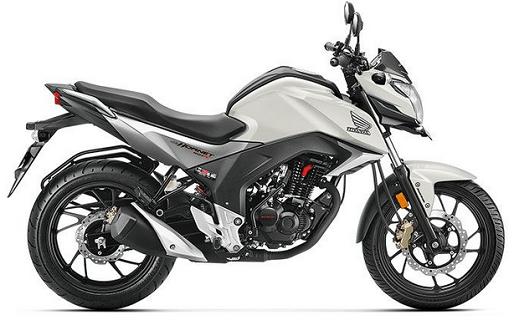Honda CB Hornet 160R White