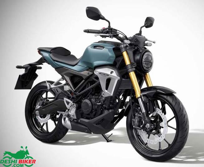 Honda CB150R ExMotion Grey