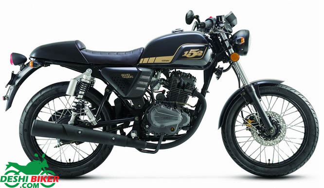 Keeway Cafe Racer 152 Specification
