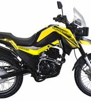 Motocross Fighter 150 Yellow