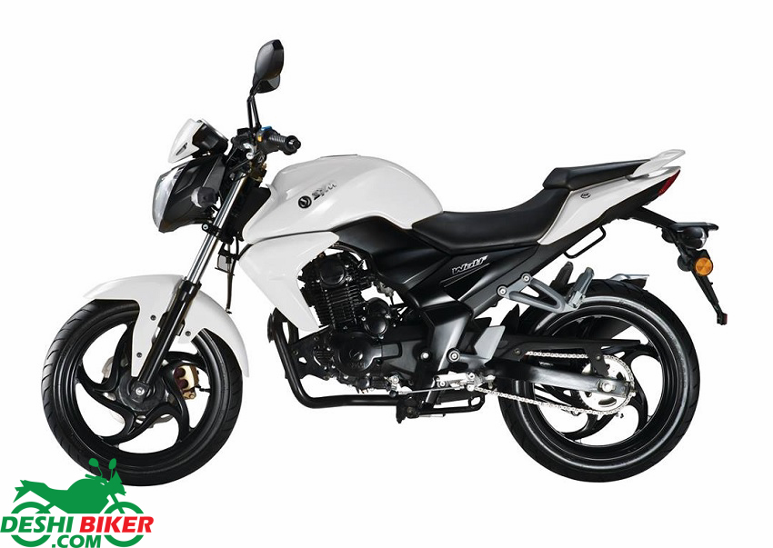 SYM Wolf T1 150 White
