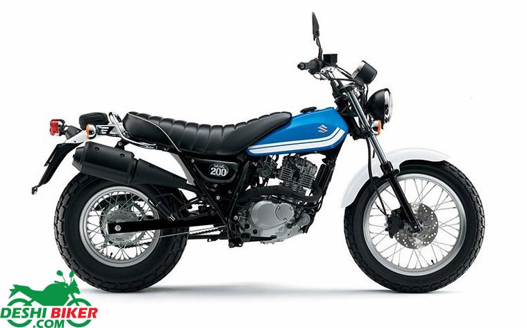 Suzuki VanVan 125 Blue