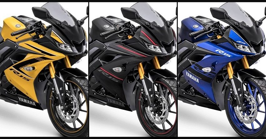 new model yamaha yzf r15 v3 colors bd price specifications image