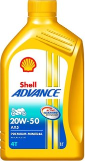 Shell Advance AX5 20W50