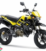 Kawasaki KSR Pro Yellow
