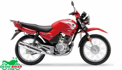 Yamaha YBR 125 Red
