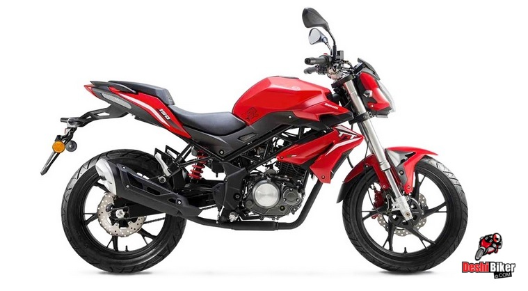 Benelli TNT 150 Red