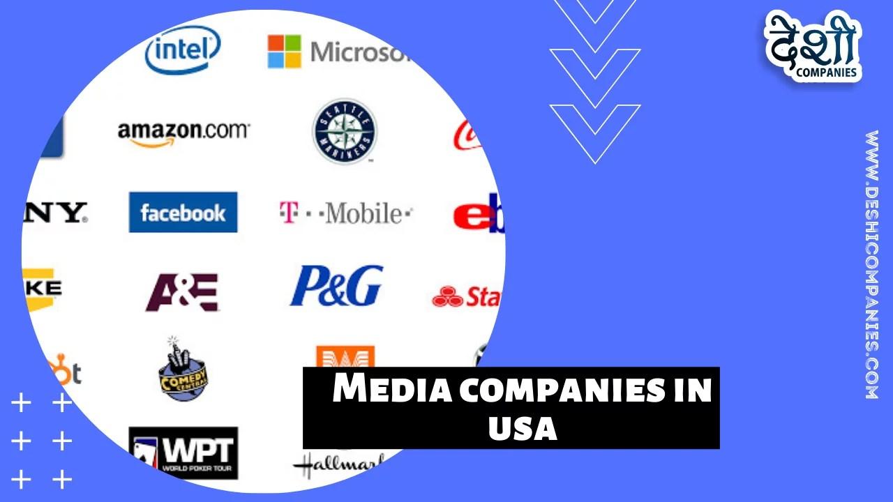 Media companies in USA logo