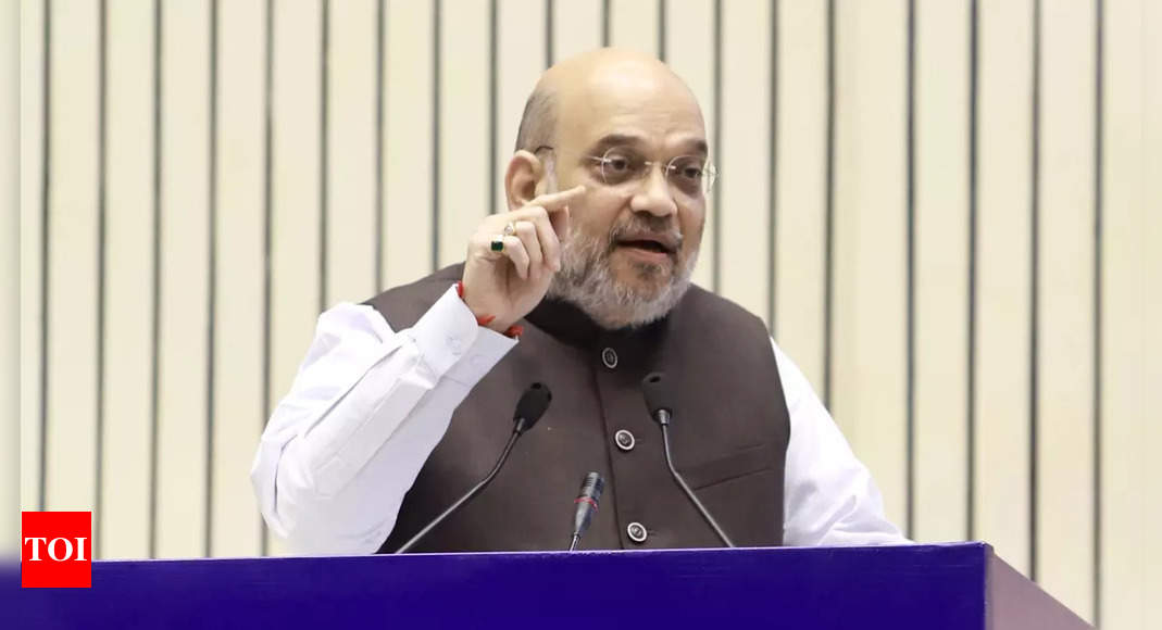 Amit Shah: 'India now gives befitting reply'; Eye on Pakistan, Amit Shah recalls 2016 surgical strikes   India News