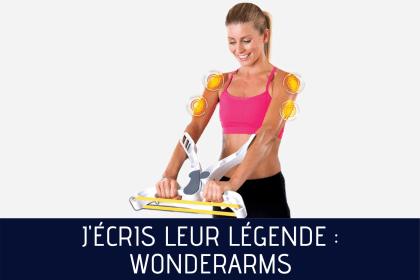 WonderArms : l'entraînement des femmes que rien n'arrête !