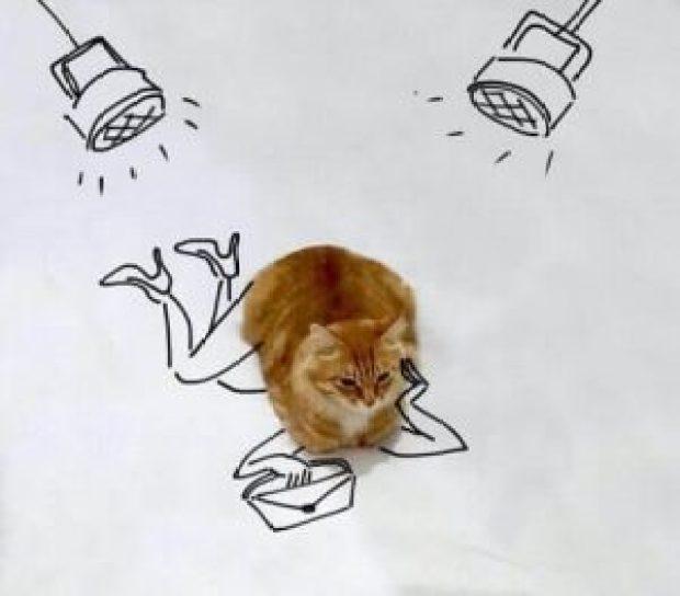 Chat Humoristique Dessin 1 – dessin de chat détourné | des hommes et des chats
