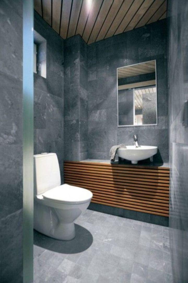 30 Small Modern Bathroom Ideas – Deshouse