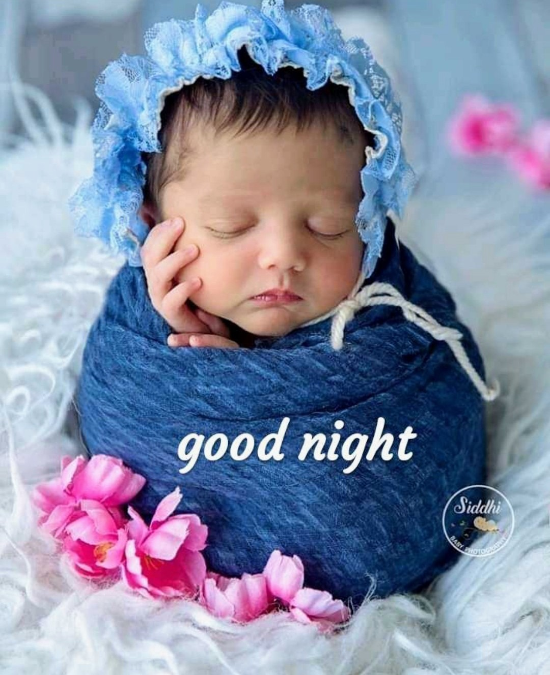 Good Night Images With Cute Baby Girl : night, images, Night, DesiComments.com