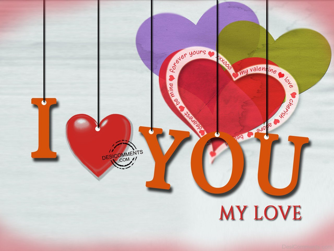 I Love You,my Love Desicommentscom