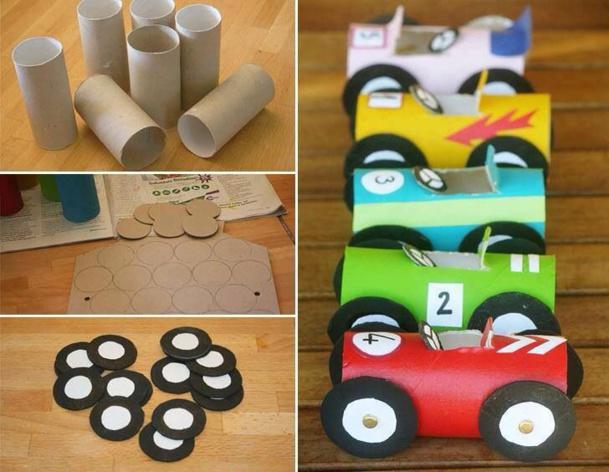 Recyclez Vos Rouleaux De Papier Toilette En Voiture De