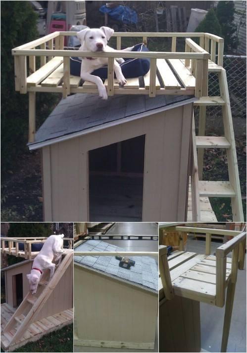 Construisez une niche pour chien super originale Des id233es
