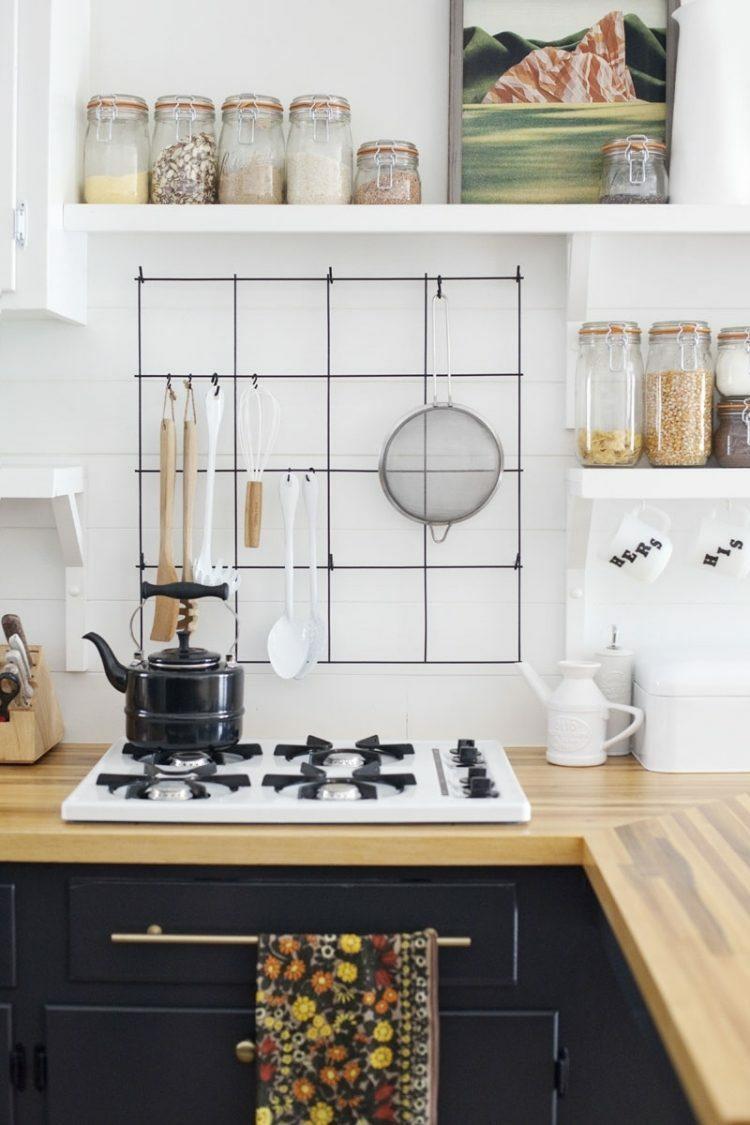 15 ides de rangements muraux pour la cuisine  bricoler