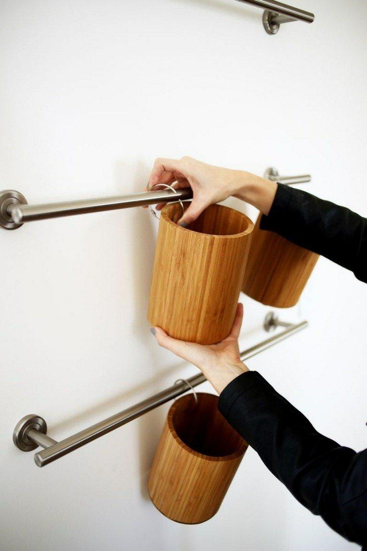 kitchen pots colored cabinets 15 idées de rangements muraux pour la cuisine à bricoler ...