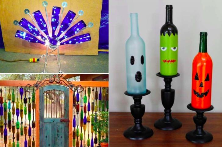 21 nouvelles ides bricolage avec vos bouteilles en verre