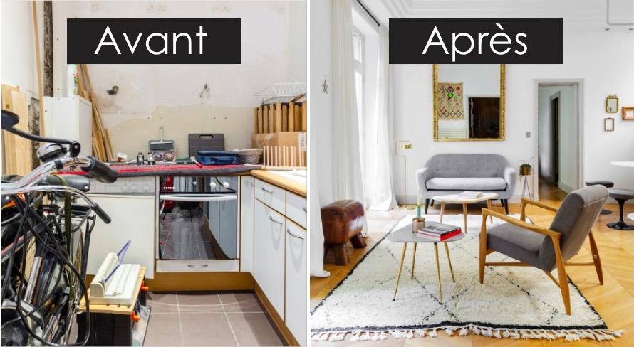 Avant  Aprs  le home staging a compltement transform cet appartement parisien  Des ides