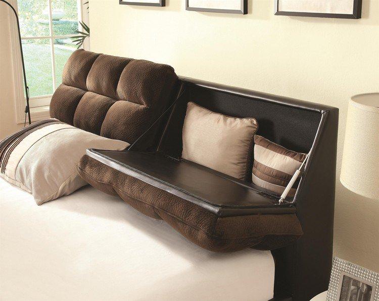 26 ttes de lit avec rangement intgr pour votre chambre  Des ides