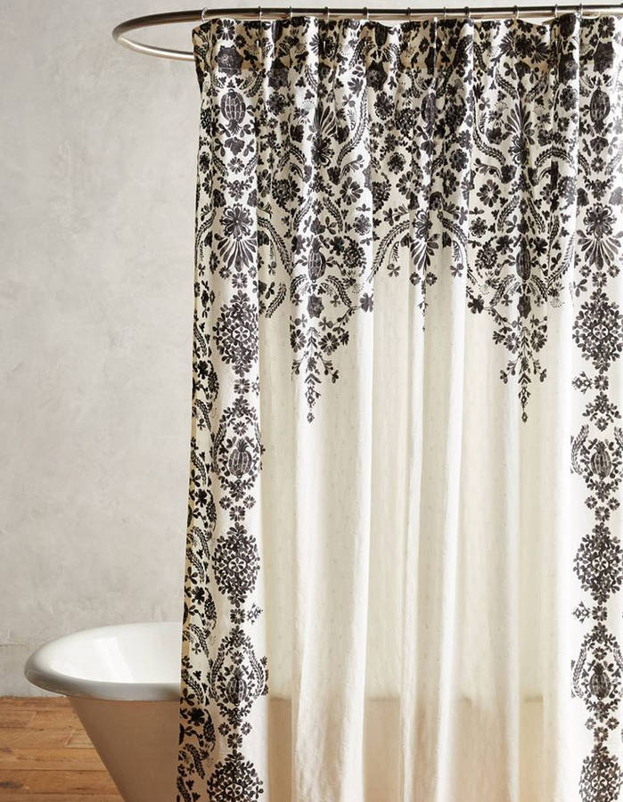 15 rideaux de douche pour une salle de bain tendance  Page 3 sur 3