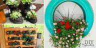 10 Jardinires Fabriquer Pour Un Petit Coin Vert Sur