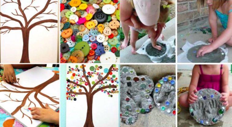 18 activits manuelles et cratives  faire avec vos enfants  Des ides