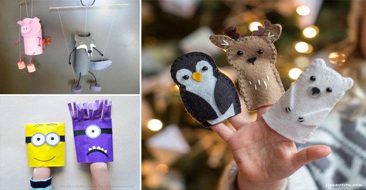 13 Ides De Marionnettes Fabriquer Avec Vos Enfants