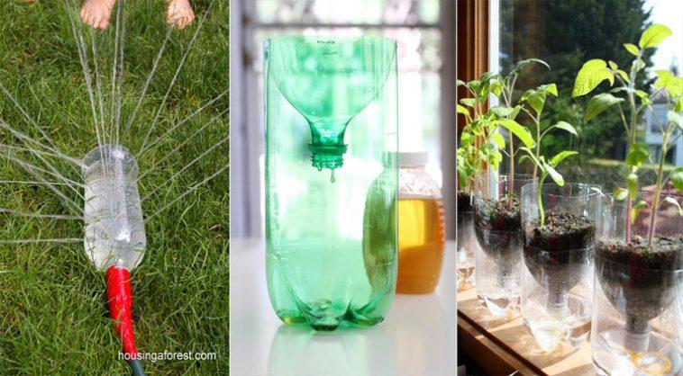 10 faons cratives de recycler vos bouteilles en plastique  Des ides
