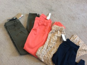 Pants 33$ for the 4 (RP 200$) Saks off Fifth