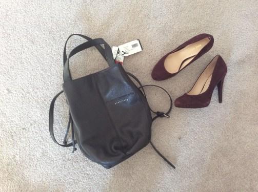 Sanctuary Leather Bag 35$ (RP 250$), Marshalls