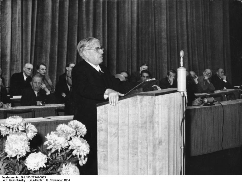 Bloch a Berlino nel 1954