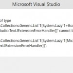 Visual Studio 2014 CTP4 and Windows 10 Preview (Build 9860)