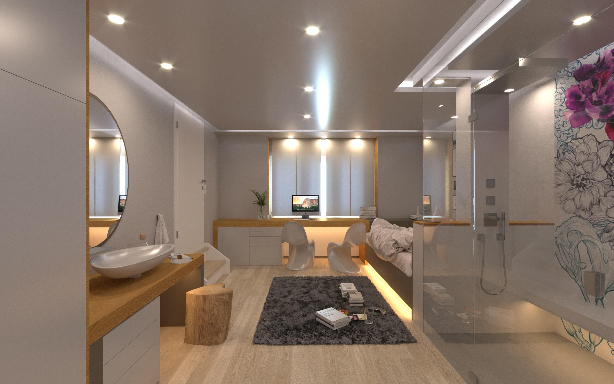 Badezimmergestaltung Fliesen