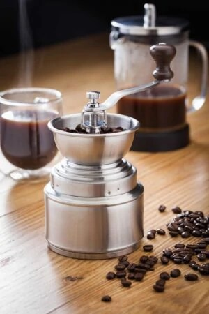 Horwood Stainless Steel Coffee Grinder kaffekværn