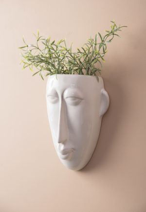pt, Wall plant pot Mask long potteskjuler til væggen lang