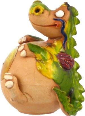 Wilma's fair trade Tuinbol Draak havefigurer Drager