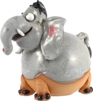 Wilma's fair trade Tuinbol Olifant havefigurer Elefanter
