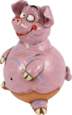 Wilma's fair trade Tuinbol Varken havefigurer Grise