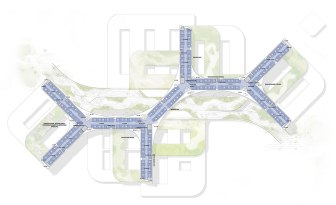 New North Zealand Hospital by C.F. Møller - Plan 4-6 Bed wards