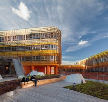 Departments of Law and Central Administration, at the Vienna University of Economics and Business, by CRAB studio