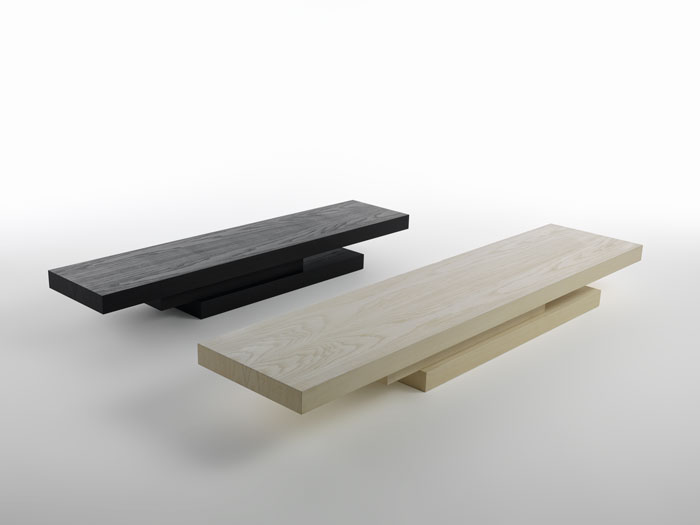 cantilever coffee table by dror for