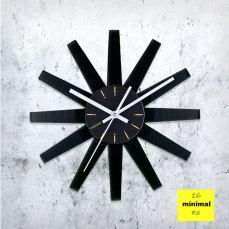 Minimal Ra Vinyl Clock by ArtZavold