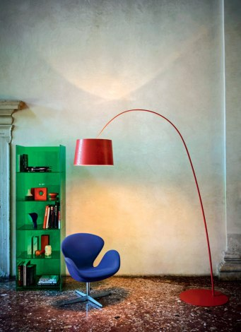 Twiggy Floor Lamp - Foscarini - Ritratti Catalogue - Image by Andrea Ferrri