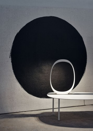 Anisha Table Lamp - Foscarini - Ritratti Catalogue - Image by Andrea Ferrri