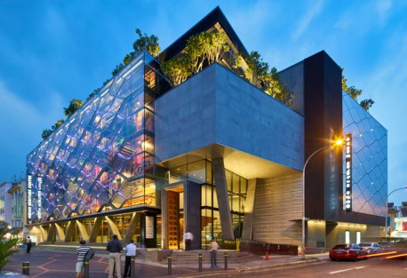 """A Glowing Lantern for """"Little India"""" by Robert Greg Shand Architects and Urban Design - URBNarc - Singapore"""