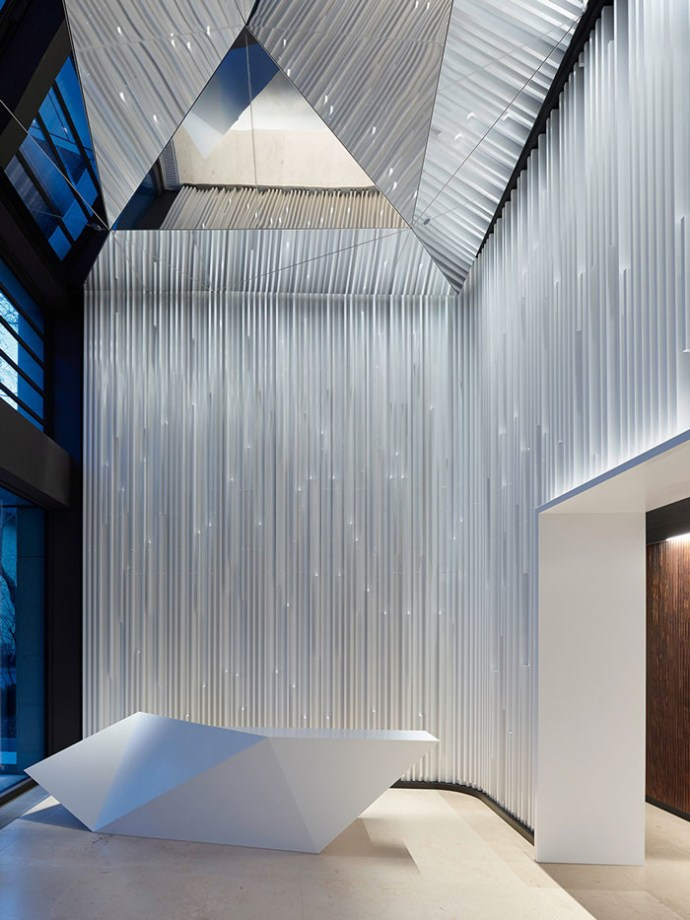 Solo West Lobby by Ippolito Fleitz Group